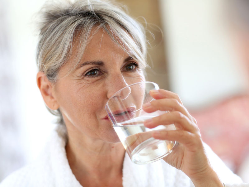 water hydration for the elderly